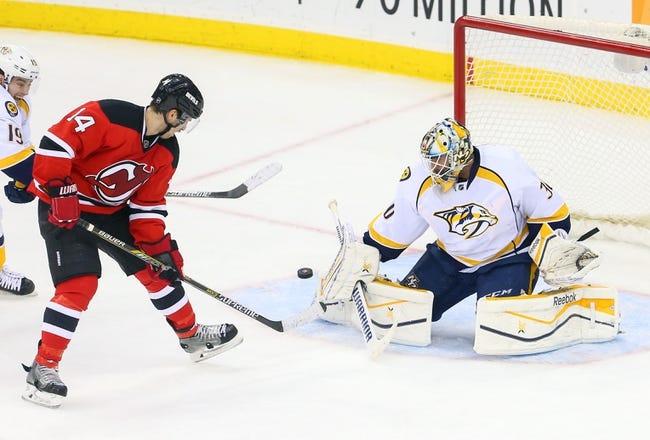 New Jersey Devils vs. Nashville Predators - 10/13/15 NHL Pick, Odds, and Prediction
