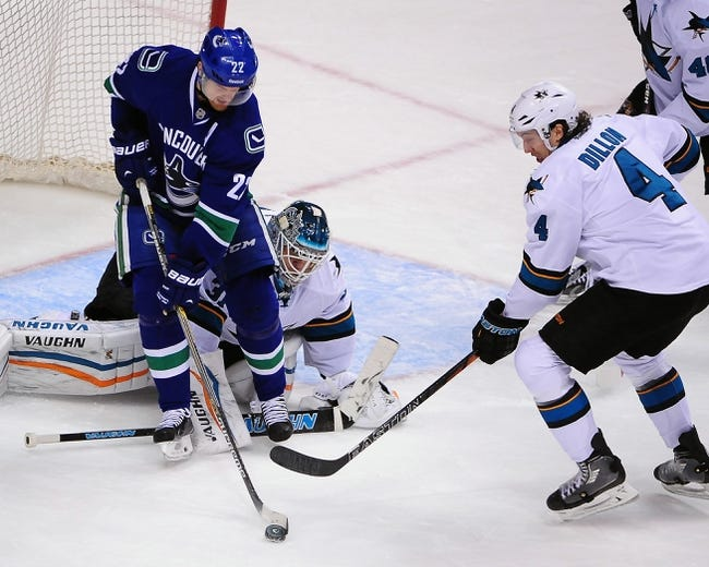 NHL | Vancouver Canucks (36-24-4) at San Jose Sharks (32-25-8)