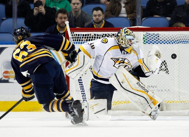 Nashville Predators vs. Buffalo Sabres - 3/21/15 NHL Pick, Odds, and Prediction