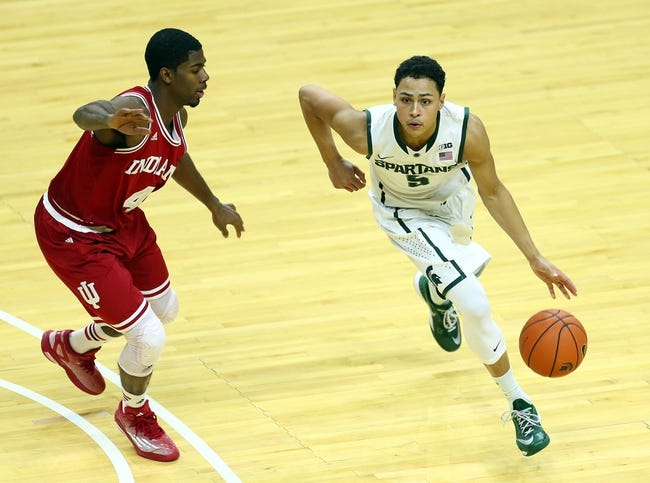Indiana vs. Michigan State - 3/7/15 College Basketball Pick, Odds, and Prediction