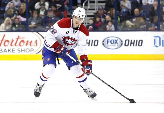 Montreal Canadiens vs. Columbus Blue Jackets - 12/1/15 NHL Pick, Odds, and Prediction