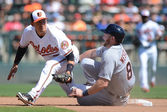 Detroit Tigers vs. Baltimore Orioles - 7/17/15 MLB Pick, Odds, and Prediction