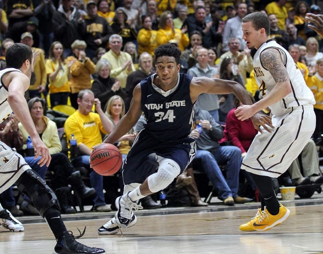Wyoming vs. Utah State - 3/12/15 MWC Quarterfinal Pick, Odds, and Prediction