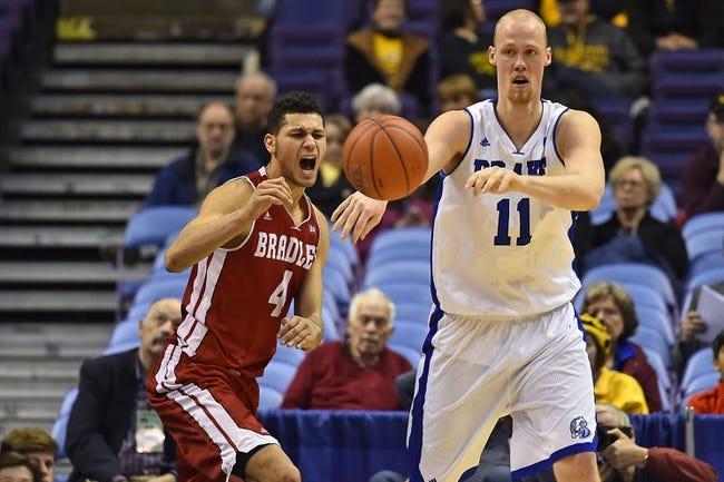 Drake vs. Bradley - 1/30/16 College Basketball Pick, Odds, and Prediction