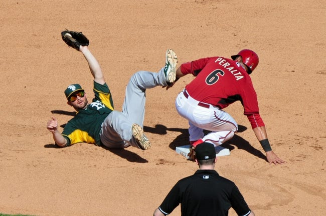 Arizona Diamondbacks vs. Oakland Athletics - 8/28/15 MLB Pick, Odds, and Prediction