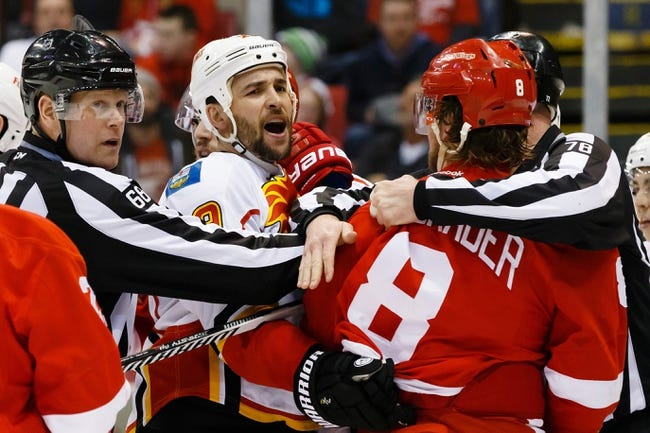 Calgary Flames vs. Detroit Red Wings - 10/23/15 NHL Pick, Odds, and Prediction