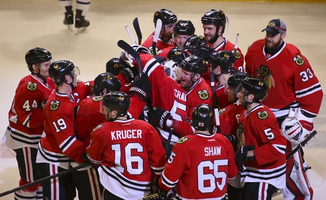 Chicago Blackhawks vs. Edmonton Oilers - 11/8/15 NHL Pick, Odds, and Prediction