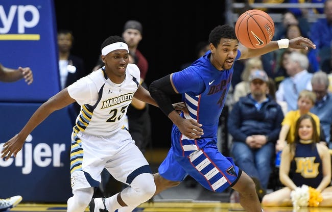 Marquette vs. DePaul - 1/20/16 College Basketball Pick, Odds, and Prediction