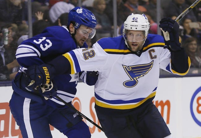 St. Louis Blues vs. Toronto Maple Leafs - 12/5/15 NHL Pick, Odds, and Prediction