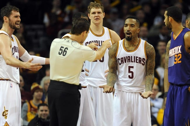 Phoenix Suns vs. Cleveland Cavaliers - 12/28/15 NBA Pick, Odds, and Prediction