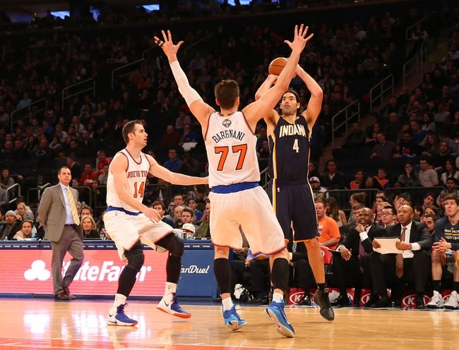 Knicks vs. Pacers - 4/8/15 NBA Pick, Odds, and Prediction