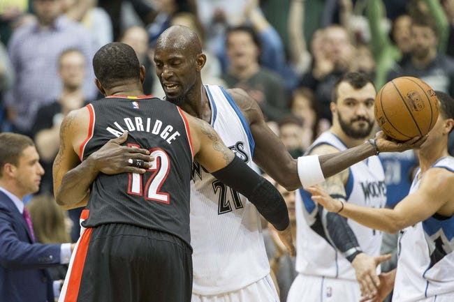 Trail Blazers vs. Timberwolves - 4/8/15 NBA Pick, Odds, and Prediction