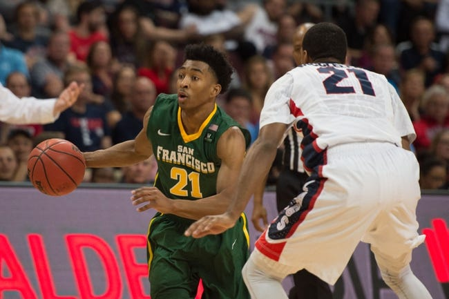 San Francisco vs. Rice 11/16/15 - College Basketball Pick, Odds, and Prediction