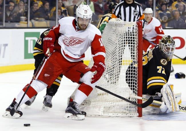 Red Wings vs. Bruins - 4/2/15 NHL Pick, Odds, and Prediction