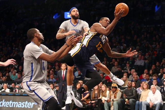 Nets vs. Jazz - 1/22/16 NBA Pick, Odds, and Prediction
