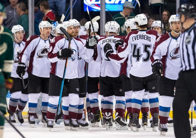 Colorado Avalanche vs. Minnesota Wild - 10/8/15 NHL Pick, Odds, and Prediction