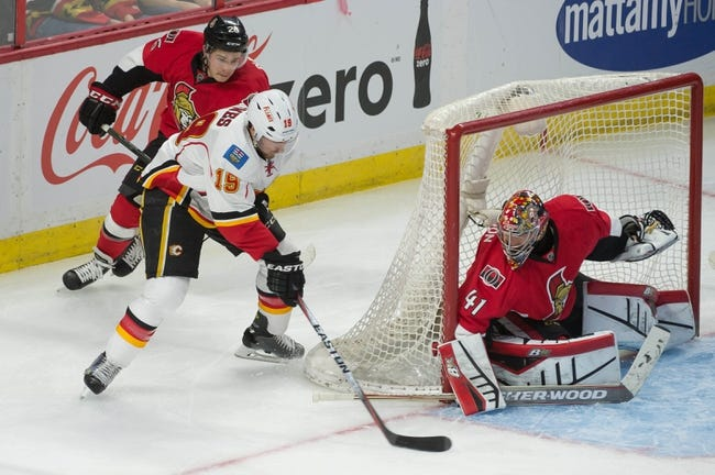 Ottawa Senators vs. Calgary Flames - 10/28/15 NHL Pick, Odds, and Prediction