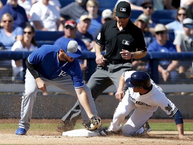 Milwaukee Brewers vs. Kansas City Royals - 6/16/15 MLB Pick, Odds, and Prediction