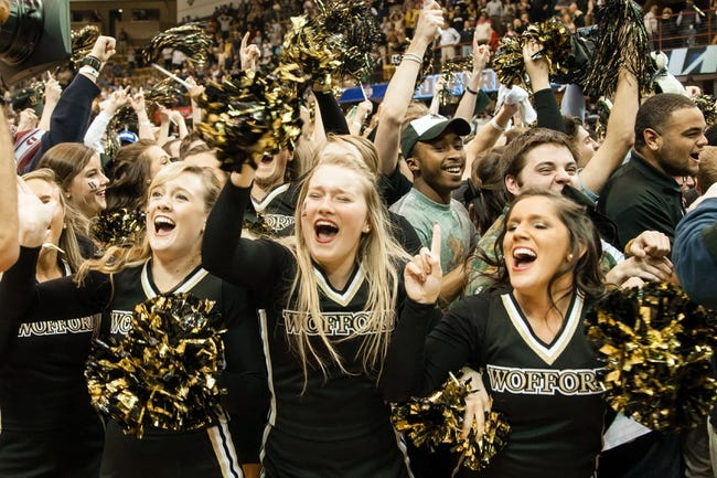 Wofford Terriers vs. Furman Paladins - 2/20/16 College Basketball Pick, Odds, and Prediction