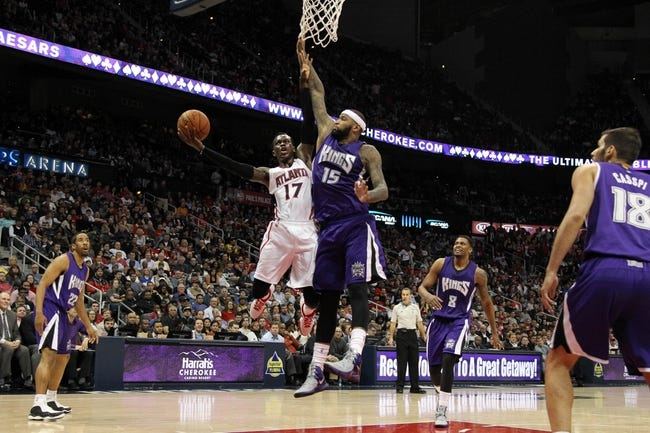 Kings vs. Hawks - 3/16/15 NBA Pick, Odds, and Prediction