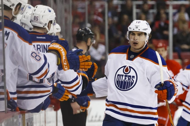 Edmonton Oilers vs. Detroit Red Wings - 10/21/15 NHL Pick, Odds, and Prediction