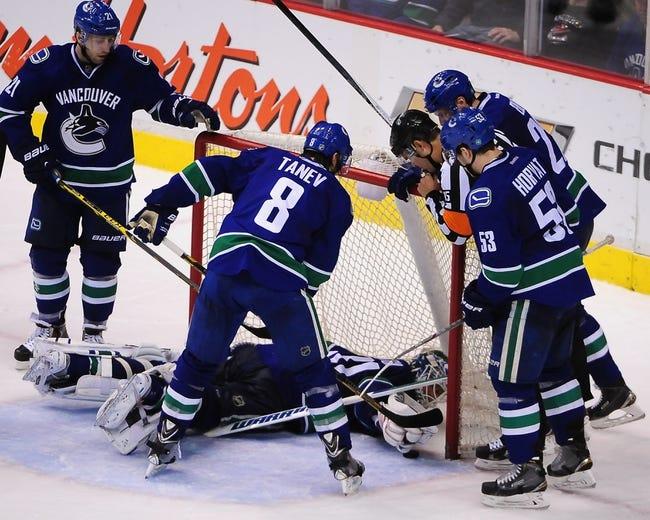 Anaheim Ducks vs. Vancouver Canucks - 10/12/15 NHL Pick, Odds, and Prediction