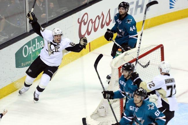 Penguins vs. Sharks - 3/29/15 NHL Pick, Odds, and Prediction