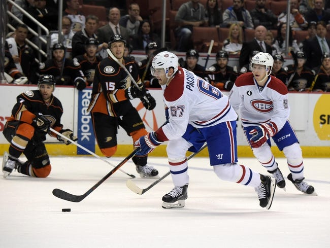 Anaheim Ducks vs. Montreal Canadiens - 3/2/16 NHL Pick, Odds, and Prediction