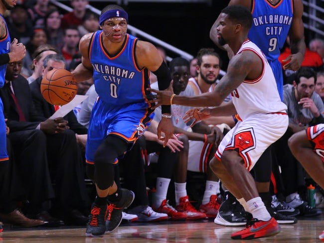 Oklahoma City Thunder vs. Chicago Bulls - 3/15/15 NBA Pick, Odds, and Prediction