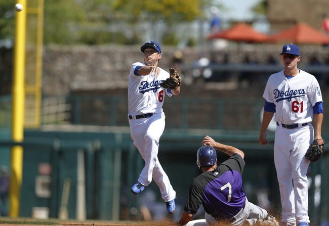 Rockies at Dodgers - 4/17/15 MLB Pick, Odds, and Prediction