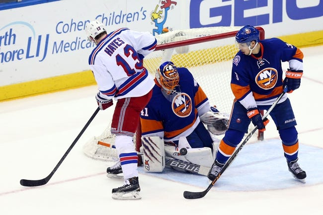 New York Islanders vs. New York Rangers - 12/2/15 NHL Pick, Odds, and Prediction