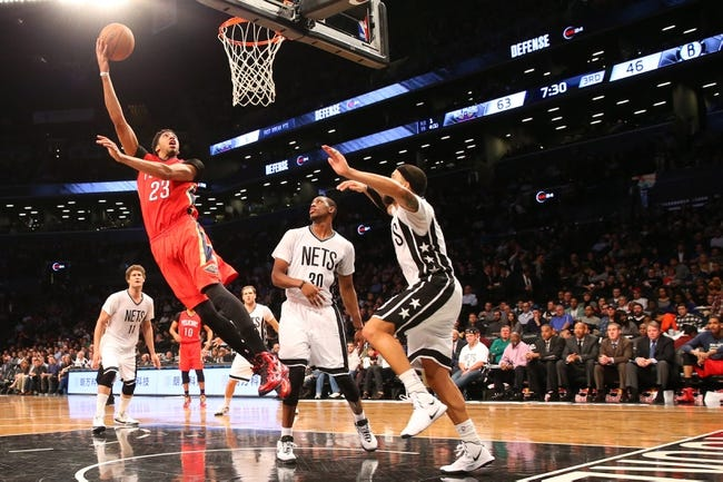 Nets at Pelicans - 1/30/16 NBA Pick, Odds, and Prediction