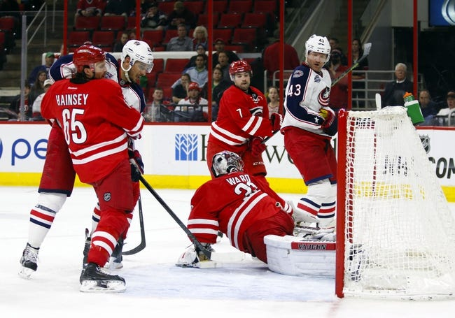 Blue Jackets vs. Hurricanes - 3/15/15 NHL Pick, Odds, and Prediction