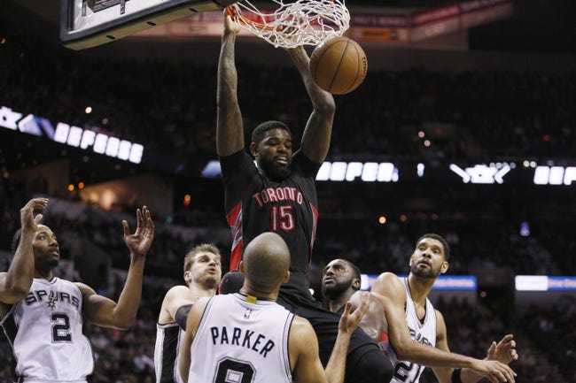 Raptors vs. Spurs - 12/9/15 NBA Pick, Odds, and Prediction