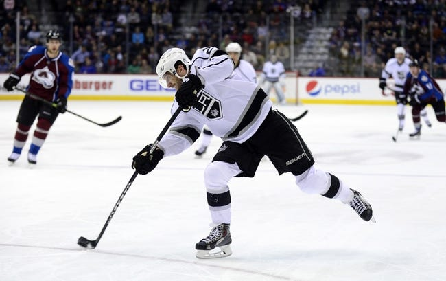 Kings vs. Avalanche - 4/4/15 NHL Pick, Odds, and Prediction