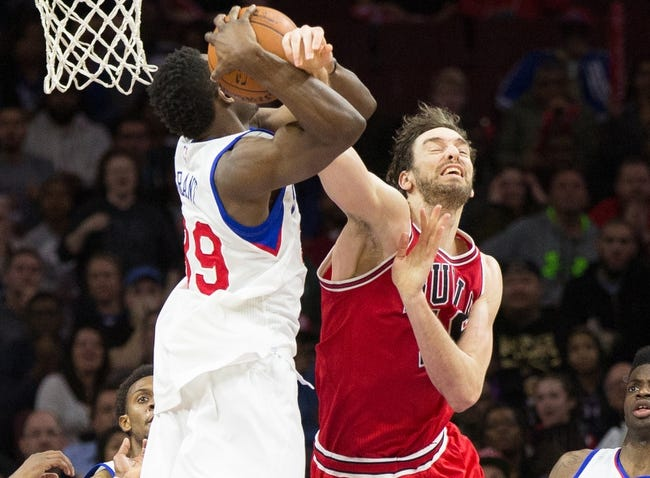 Chicago Bulls vs. Philadelphia 76ers - 4/11/15 NBA Pick, Odds, and Prediction