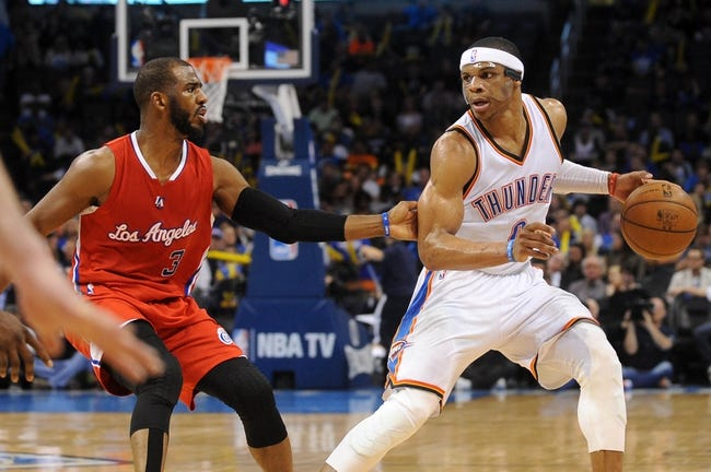 Los Angeles Clippers vs. Oklahoma City Thunder - 12/21/15 NBA Pick, Odds, and Prediction
