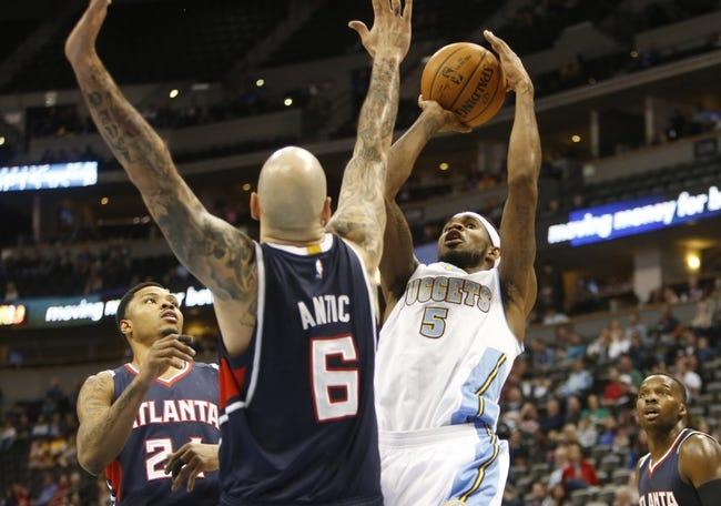 Hawks at Nuggets - 1/25/16 NBA Pick, Odds, and Prediction