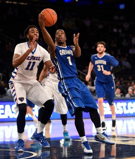 DePaul Blue Demons vs. Creighton Bluejays - 1/17/16 College Basketball Pick, Odds, and Prediction