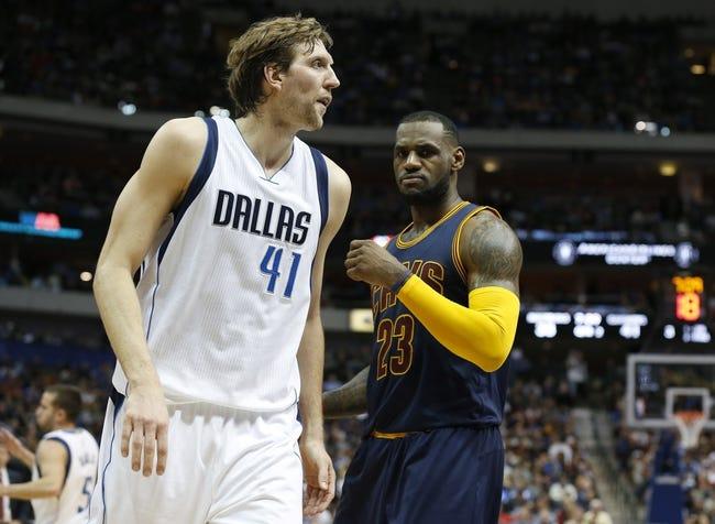 Cavaliers at Mavericks - 1/12/16 NBA Pick, Odds, and Prediction
