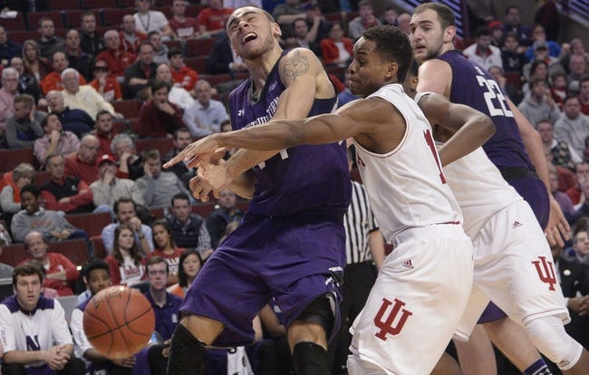 Indiana Hoosiers vs. Northwestern Wildcats - 1/23/16 College Basketball Pick, Odds, and Prediction