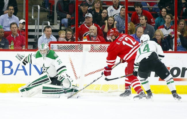 Carolina Hurricanes vs. Dallas Stars - 11/6/15 NHL Pick, Odds, and Prediction