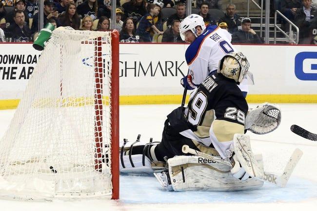 Edmonton Oilers vs. Pittsburgh Penguins - 11/6/15 NHL Pick, Odds, and Prediction