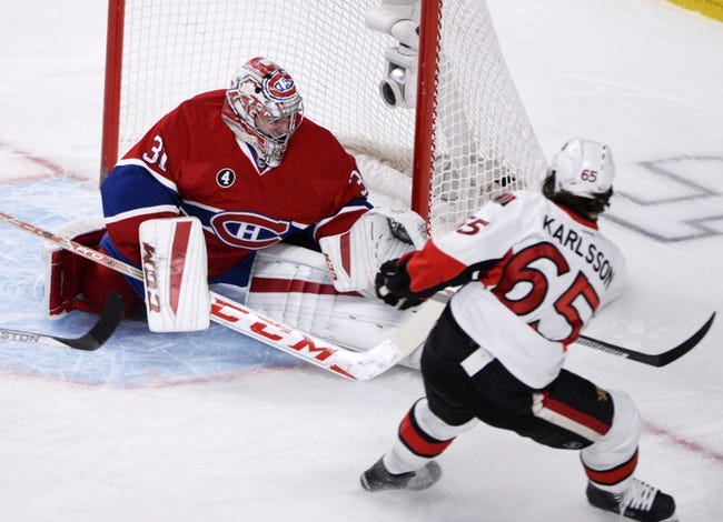 Ottawa Senators at Montreal Canadiens- 4/15/15 NHL Pick, Odds, and Prediction