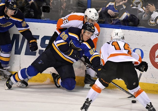 St. Louis Blues vs. Philadelphia Flyers - 12/10/15 NHL Pick, Odds, and Prediction