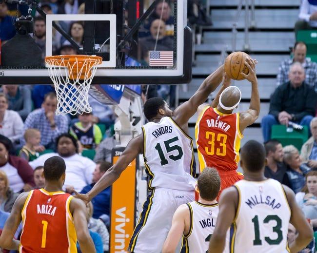 Jazz at Rockets - 4/15/15 NBA Pick, Odds, and Prediction