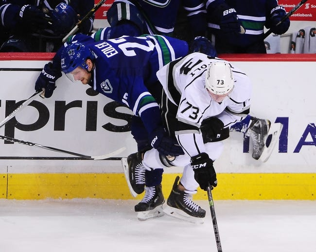 Kings vs. Canucks - 3/21/15 NHL Pick, Odds, and Prediction