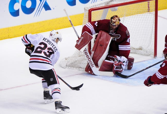 Arizona Coyotes vs. Chicago Blackhawks - 12/29/15 NHL Pick, Odds, and Prediction