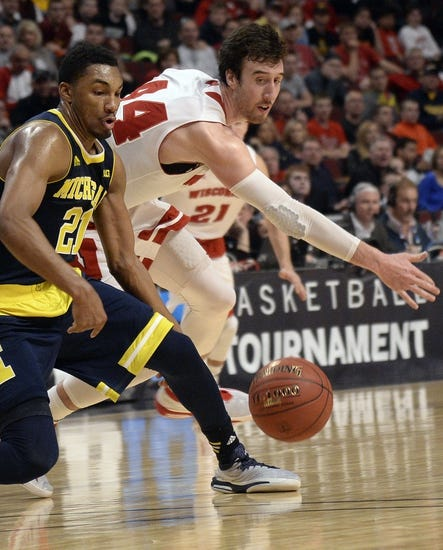 Wisconsin Badgers vs. Michigan Wolverines - 2/28/16 College Basketball Pick, Odds, and Prediction