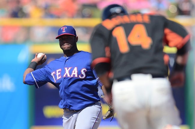 Rangers vs. Giants - 7/31/15 MLB Pick, Odds, and Prediction
